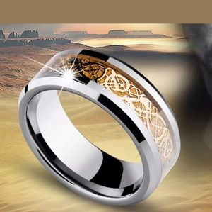 Other - Celtic Design Stainless Steel Rings